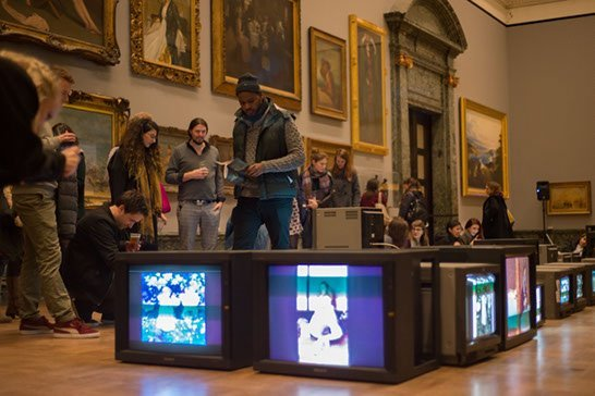 1840s GIF Party, Late at Tate Britain, image Copyright Greg Sigson