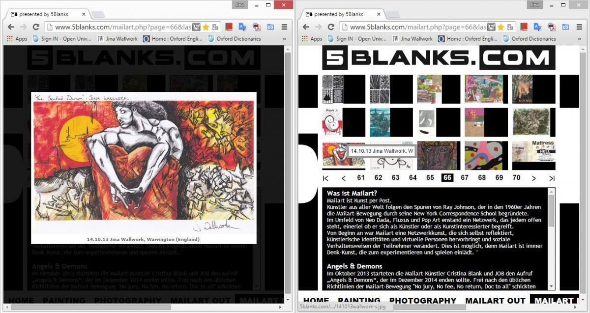 2015 5Blanks exhibition (web Clippings)