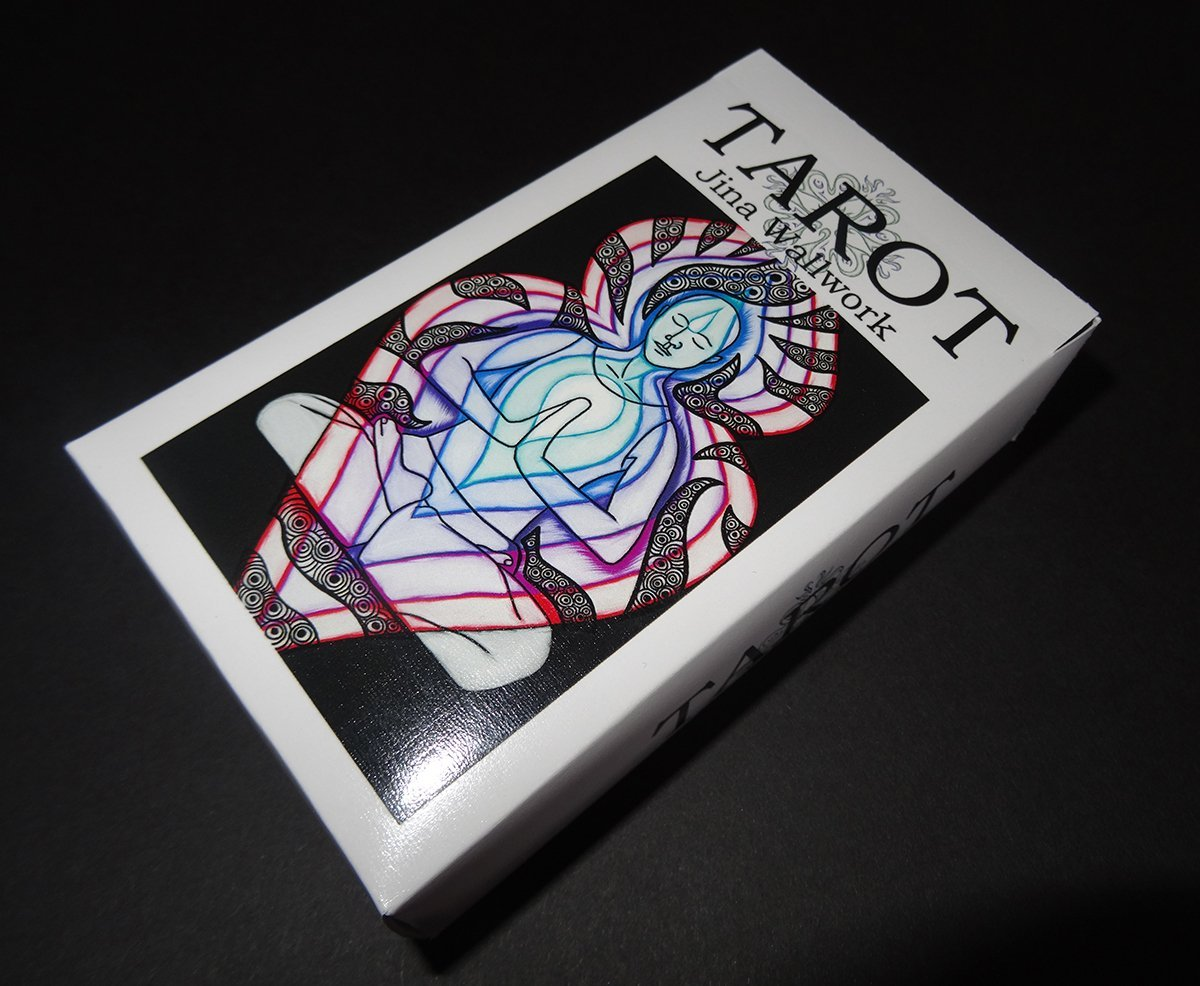 A set of tarot cards by Jina Wallwork