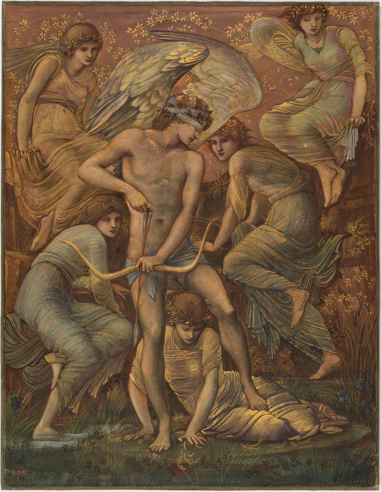 Cupid's Hunting Fields 1885 by Sir Edward Burne-Jones