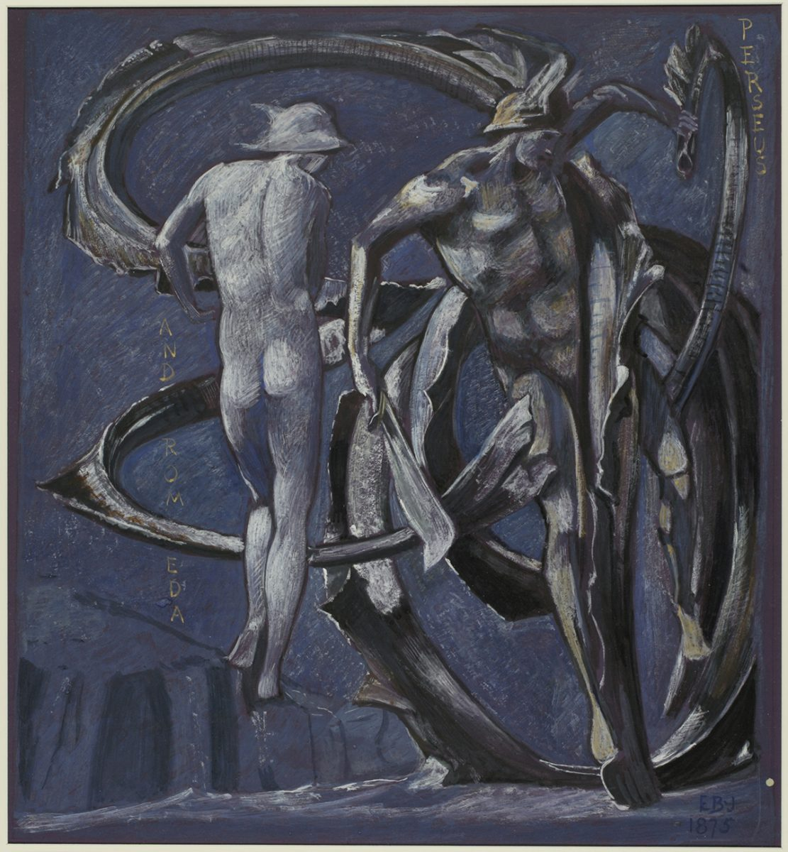 Perseus and Andromeda, study for The Doom Fulfilled 1875 by Sir Edward Burne-Jones