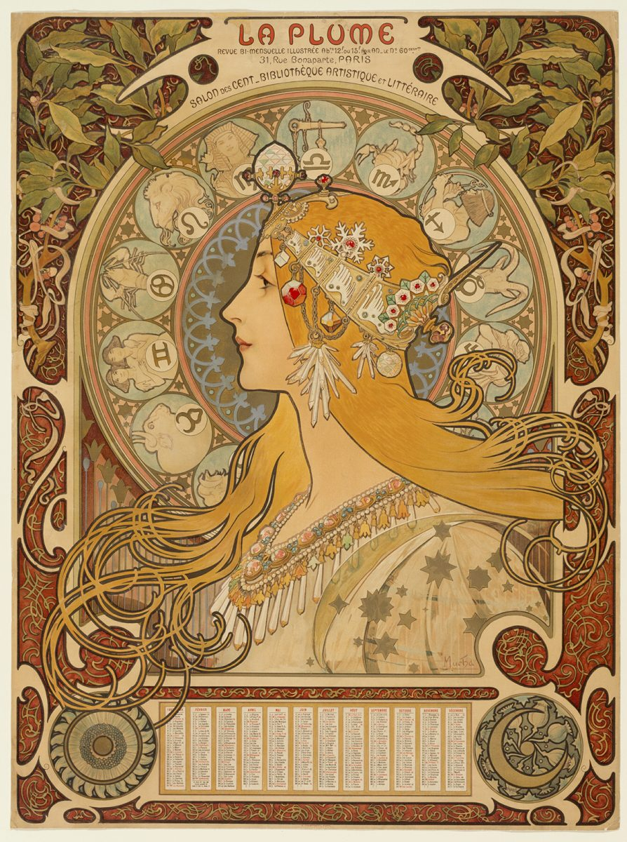 A piece of artwork by Mucha